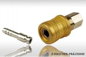 Walther-praezision – быстроразъемные соединения для шлангов компрессора